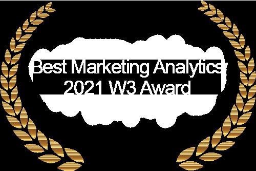 Best Marketing Analytics 2021 W3 Award